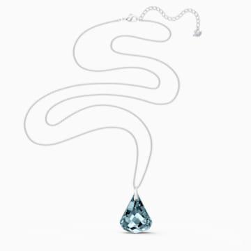 Spirit Halskette, blau, rhodiniert - Swarovski, 5521034