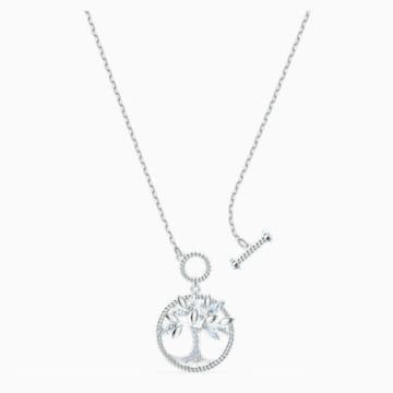 Collana Swarovski Symbolic Tree of Life, bianco, placcato rodio - Swarovski, 5521463