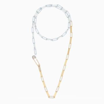 So Cool Halskette, weiss, Metallmix - Swarovski, 5521723
