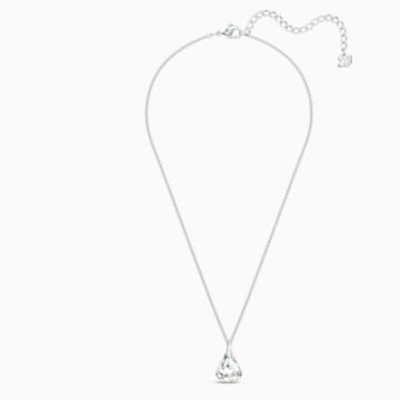 Spirit Pendant, White, Rhodium plated - Swarovski, 5521769