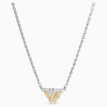 Fit Wonder Woman Necklace, Gold tone, Mixed metal finish - Swarovski, 5522407