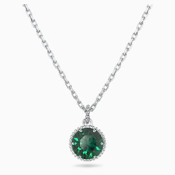 Pendente Birthstone, Maggio, verde, placcato rodio - Swarovski, 5522776