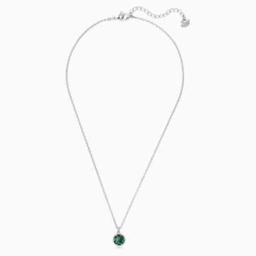 Přívěsek měsíční kámen, květen, zelený, rhodiovaný - Swarovski, 5522776