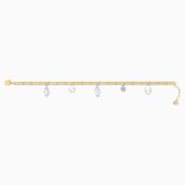 So Cool Charm Armband, weiss, Metallmix - Swarovski, 5522861