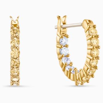 Vittore Kreolen, goldfarben, vergoldet - Swarovski, 5522880