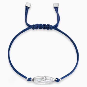 Pulsera Swarovski Power Collection Hamsa Hand, azul, acero inoxidable - Swarovski, 5523154