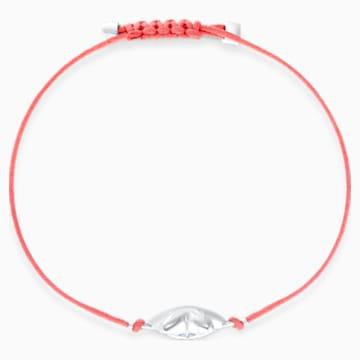 Swarovski Power Collection Flower Bracelet, Red, Stainless steel - Swarovski, 5523170