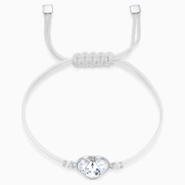 Swarovski Power Collection Heart Bracelet, White, Stainless steel - Swarovski, 5523696