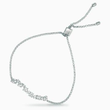 Signature Bracelet, Swarovski Created Diamonds, 18K White Gold - Swarovski, 5524701