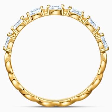 Vittore Marquise Ring, White, Gold-tone plated - Swarovski, 5525118