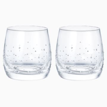 Light平底酒杯(一對) - Swarovski, 5527094
