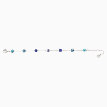 Blow Bracelet, Multi-colored, Rhodium plated - Swarovski, 5528200