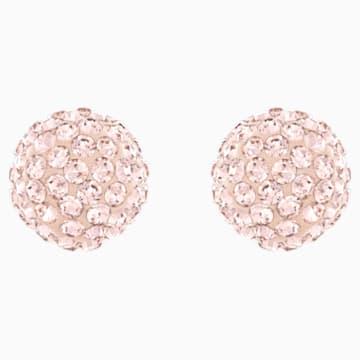 Boucles d'oreilles Blow, rose, Métal doré rose - Swarovski, 5528456