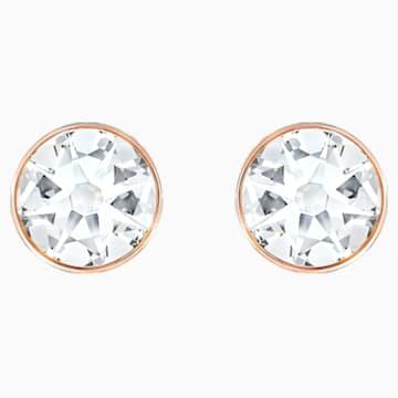 Forward Ohrring Jackets, weiss, Rosé vergoldet - Swarovski, 5528490