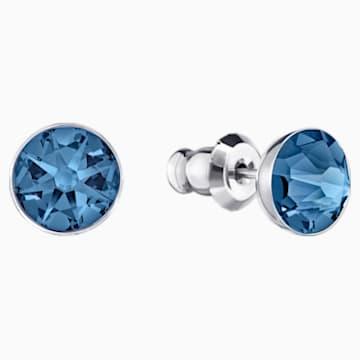 Orecchini Jackets Forward, azzurro, Placcatura in palladio - Swarovski, 5528514