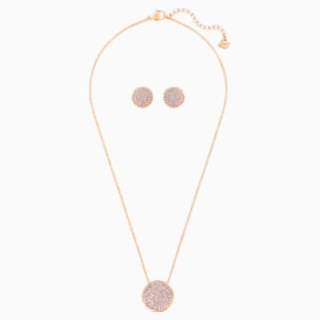 Fun Set, Rose-gold tone plated - Swarovski, 5528942