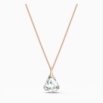 Pendentif Spirit, blanc, métal doré rose - Swarovski, 5529125