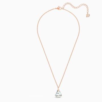 Colgante Spirit, blanco, baño tono oro rosa - Swarovski, 5529125