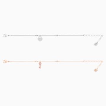 Set Crystal Wishes, bianco, Mix di placcature - Swarovski, 5529346