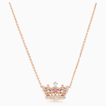 18K RG Queen of Charm Necklace (PS) - Swarovski, 5529705