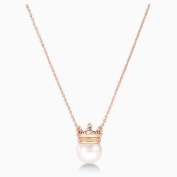 耀妳为王18K玫瑰金珍珠钻石项链 - Swarovski, 5529712