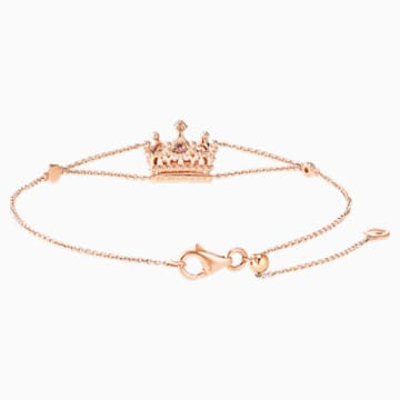 18K RG Queen of Charm Bracelet - Swarovski, 5529713