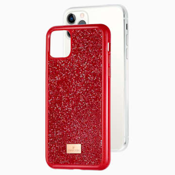 Glam Rock Smartphone Case, iPhone® 11 Pro Max, Red - Swarovski, 5531143
