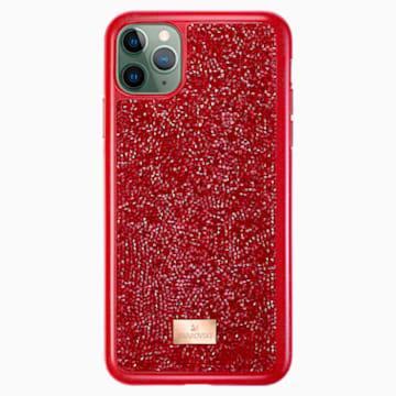 Glam Rock Akıllı Telefon Kılıfı, iPhone® 11 Pro Max, Kırmızı - Swarovski, 5531143