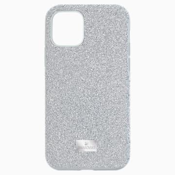 Custodia per smartphone High, iPhone® 11 Pro, tono argentato - Swarovski, 5531146