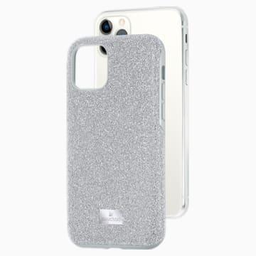 Funda para smartphone High, iPhone® 11 Pro, tono plateado - Swarovski, 5531146
