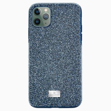 Custodia per smartphone High, iPhone® 11 Pro Max, azzurro - Swarovski, 5531148