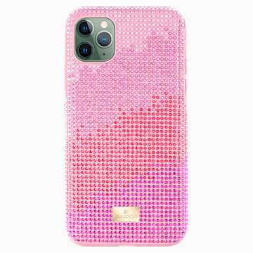 High Love-smartphone-hoesje, iPhone® 11 Pro Max, roze - Swarovski, 5531152
