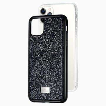 Glam Rock Akıllı Telefon Kılıfı, iPhone® 11 Pro Max, Siyah - Swarovski, 5531153