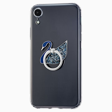 Anello adesivo Swan, azzurro, acciaio inossidabile - Swarovski, 5531511