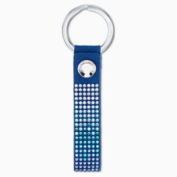 Portachiavi Anniversary, azzurro, acciaio inossidabile - Swarovski, 5533070