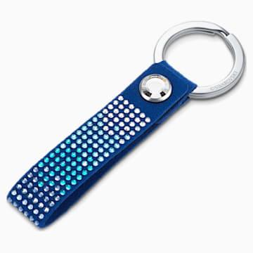 Anniversary Schlüsselanhänger, blau, Edelstahl - Swarovski, 5533070