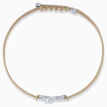 Swarovski Infinity 手链, 米色, 镀铑 - Swarovski, 5533725