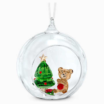 Ornament glob, scenă de Crăciun - Swarovski, 5533942