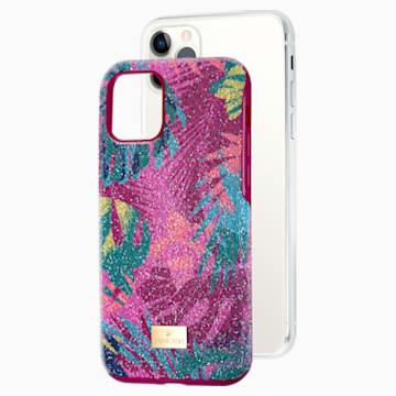 Tropical Smartphone Case with Bumper, iPhone® 11 Pro, Dark multi-coloured - Swarovski, 5533960