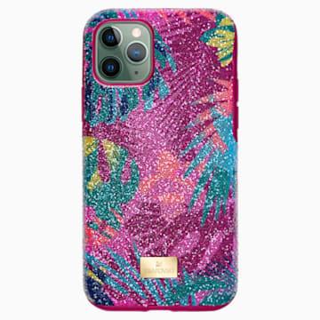 Funda para smartphone con protección rígida Tropical, iPhone® 11 Pro, colores oscuros - Swarovski, 5533960
