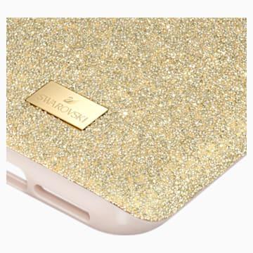 Custodia per smartphone con bordi protettivi High, iPhone® 11 Pro, tono dorato - Swarovski, 5533961