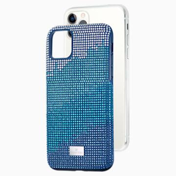 Crystalgram 智能手机防震保护套, iPhone® 11 Pro Max, 蓝色 - Swarovski, 5533965