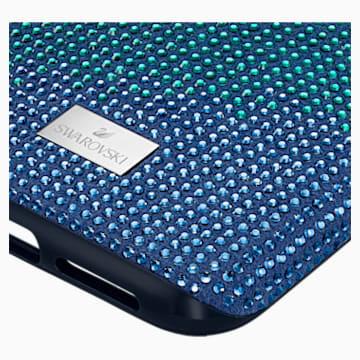 Crystalgram Koruyuculu Akıllı Telefon Kılıf, iPhone® 11 Pro Max, Mavi - Swarovski, 5533965
