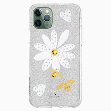 Eternal Flower Smartphone Case with Bumper, iPhone® 11 Pro, Light multi-coloured - Swarovski, 5533968