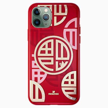 Full Blessing Fu 智能手机防震保护套, iPhone® 11 Pro, 红色 - Swarovski, 5533977