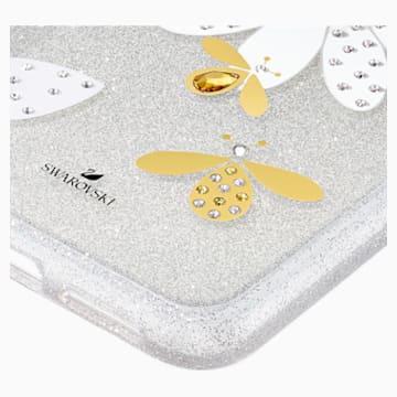 Eternal Flower 智能手機防震保護套, iPhone® 11 Pro Max, 淺色漸變 - Swarovski, 5533980