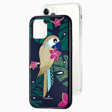Tropical Parrot Koruyuculu Akıllı Telefon Kılıf, iPhone® 11 Pro, Koyu renkli - Swarovski, 5534015