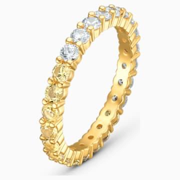 Bague Vittore Half, ton doré, métal doré - Swarovski, 5535225