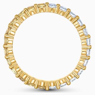 Otevřený prsten Vittore zlatý, pozlacený - Swarovski, 5535377