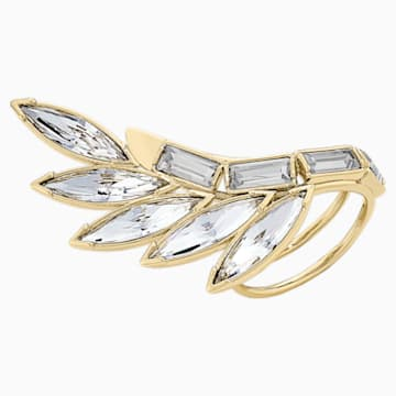 Wonder Woman Armour 戒指, 白色, 镀金色调 - Swarovski, 5535587